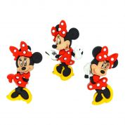 Dress It Up Disney Shaped Novelty Buttons Minnie Mouse