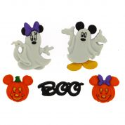 Dress It Up Disney Mickey & Minnie Buttons