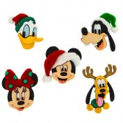 Dress It Up Disney Shaped Novelty Buttons Christmas Holiday Heads