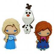 Dress It Up Disney Elsa & Anna Buttons