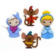 Dress It Up Disney Cinderella Buttons