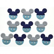 Dress It Up Disney Baby Mickey Buttons