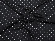 Dotty Print Stretch Jersey Knit Dress Fabric