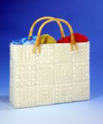 Design Works Plastic Canvas Kit Aran Plastic Canvas Tote Bag