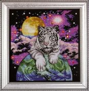 Design Works Counted Cross Stitch Kit Tiger of the Heavens