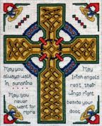 Design Works Counted Cross Stitch Kit Celtic Cross