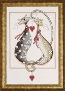 Design Works Counted Cross Stitch Kit Purrfect Together