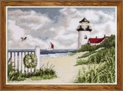 Design Works Counted Cross Stitch Kit Peaceful Shores