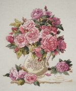 Design Works Counted Cross Stitch Kit China Roses