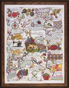 Design Works Counted Cross Stitch Kit Stitching ABC