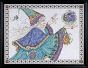 Design Works Counted Cross Stitch Kit Wizard