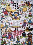 Design Works Counted Cross Stitch Kit Nursery Rhymes