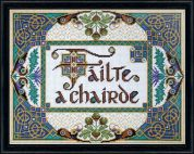 Design Works Counted Cross Stitch Kit Welcome Friends