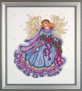 Design Works Counted Cross Stitch Kit Winter Angel