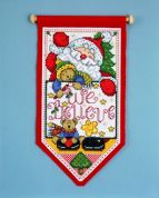 Design Works Counted Cross Stitch Kit We Believe Banner