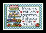 Design Works Counted Cross Stitch Kit Temptation Cake