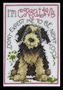 Design Works Counted Cross Stitch Kit Creative Dog