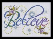 Design Works Counted Cross Stitch Kit Believe
