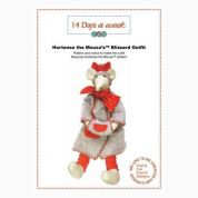 14 Days A Week Easy Sewing Pattern Hortense The Mouse Blizzard Outfit