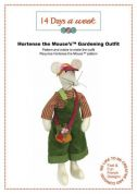14 Days A Week Easy Sewing Pattern Hortense The Mouse Gardening Outfit