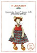 14 Days A Week Easy Sewing Pattern Hortense The Mouse Summer Outfit