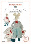 14 Days A Week Easy Sewing Pattern Hortense The Mouse Pyjama Party