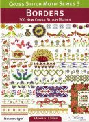 DMC Borders Cross Stitch Motif Pattern Book