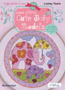 DMC Cute Baby Cross Stitch Pattern Book