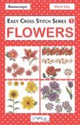DMC Flowers Easy Cross Stitch Pattern Book