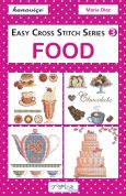 DMC Food Easy Cross Stitch Pattern Book