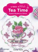 DMC Tea Time Cross Stitch Pattern Book