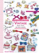 DMC Vintage Cross Stitch Pattern Book