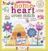 DMC Home & Heart Cross Stitch Pattern Book
