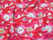 Cotton Jersey Knit Fabric  Pink