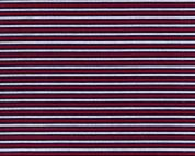 Polycotton Fabric  Navy Red White