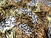 Animal Print Viscose Stretch Jersey Dress Fabric