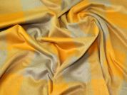 Wool Blend Coating Fabric  Mustard