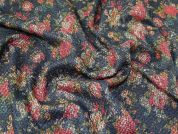 Coated Tweed Coating Fabric  Multicoloured