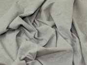 Cotton Jersey Knit Fabric  Grey
