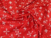 Christmas Cotton Fabric  Red