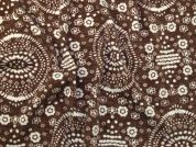 Cosy Texture Jersey Knit Fabric  Brown