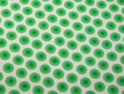 Spotty Print Polyester Crepe Dress Fabric