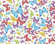 Little Johnny Digital Print Cotton Fabric  Multicoloured