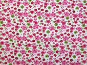Cotton Needlecord Fabric  Pink