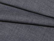 Plain Chambray Denim Dress Fabric  Grey