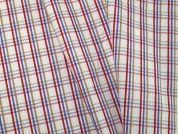 Woven Plaid Check Polycotton Shirting Dress Fabric  Multicoloured