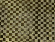Checker Metallic Lame Fabric