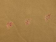 Embroidered Floral Fleece Fabric