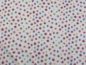 Floral Print Cotton Dress Fabric  Multicoloured