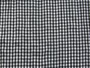 Woven Crinkle Gingham Check Fabric